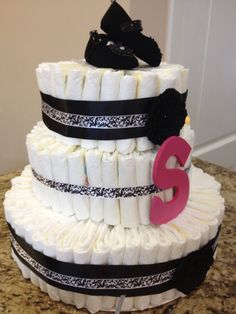 Diaper Cake- Guest Post by Katie Ward