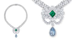 London'sHarrodsis presenting extravagant and artistic jewelry designs during a two-week event featuring jewels from theBiennaledesAntiquaires, the renowned art and antiques fair held at the Paris GrandPalaisin early September.