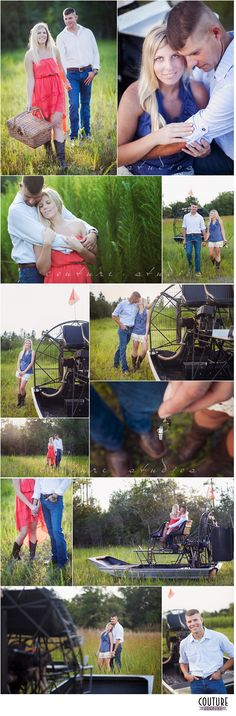 Airboat Engagement Session! North Florida Wedding Photography - Couture Studios http://www.couture-studios.com/an-air-boat-engagement-preview-starke-fl-wedding-photographer/