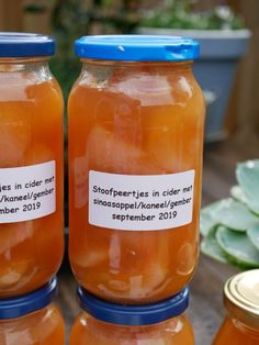 Provenance of recipe: I no longer have an idea, I think in response to the and . Canning Recipes, Chutney, Veggies, Favorite Recipes, Yummy Food, Jar, Homemade, Sweet, Desserts