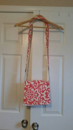 Check out this item in my Etsy shop https://www.etsy.com/listing/231414989/coral-floral-crossbody-bag