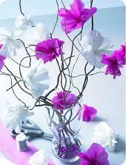 """Résultat de recherche d'images pour """"fleurs en papier crépon"""""""