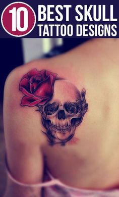 Skull tattoos are being made these days not for some symbolic reason but for whimsical fun and for getting something done which is different from the rest.