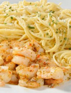 Spicy Shrimp and Spaghetti- just add whole grain pasta/gluten free and tada! healthy meal made easy <3