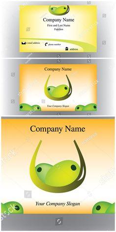 Vector Illustration Shutterstock Businesscards Business Card With Two Olives OlivesBusiness CardsVisit CardsCarte De Visite