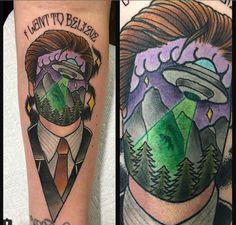 xfiles tattoo