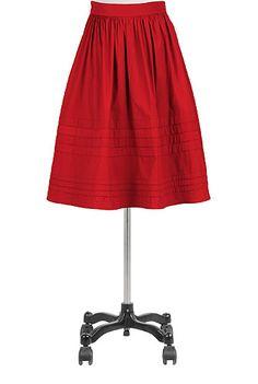 Womens black skirts and dresses - Cotton, Long, Plus Size, A-line, Pencil - Womens designer skirts - | eShakti.com