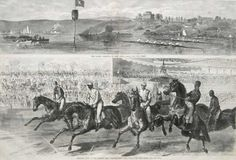 Opening Race At the Jerome Park, Fordham, New York, June 8, 1868 - The Start by Unknown