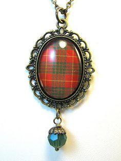 Ancient Romance Series - Scottish Tartans - Crawford Necklace, via Flickr.