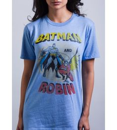 Batman and Robin Cartoon Comic Book T Shirt