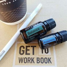 It's Friday people! You can do it! Use Balance and Peppermint to keep you…