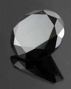 10.05Ct Natural RBC Black Diamond Solitaire black ☻