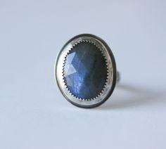 Labradorite rings are in! Come check us out to see our newest styles www.bohemijewelry.com #ring #jewelry #blue #gemstone #bohemian #bohochic #labradorite