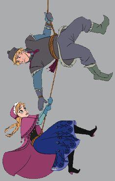 Kristoff&Anna