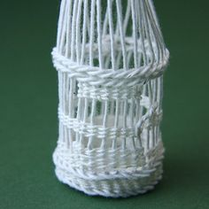 Weave These Miniature Bird Cages for Decorations: Finish the Sides of the Dolls House Bird Cage