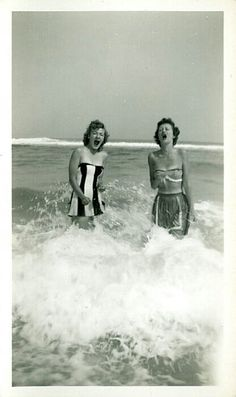 I want to be here. And by here, I literally mean back in time to when this was taken, probably the 1940s.