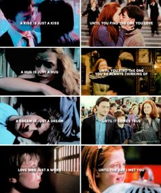 Harry and Ginny - Love was just a word until you came along and gave it a meaning.
