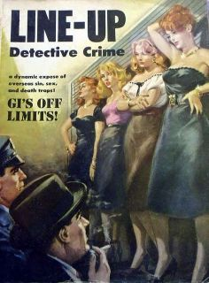 Line-Up Detective Crime by noirnoirnoir, via Flickr