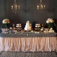 Divine Southern Dessert Table, by Angela Saban Design