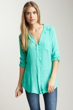 perfect mint green shirt for spring