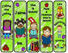 Rentrée scolaire signets gratuits Ontario Curriculum, French Resources, French Immersion, French Teacher, Explorer, French Lessons, Interactive Notebooks, Foreign Languages, Coin