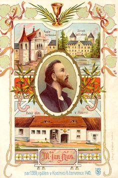 Jan Hus, Teaching History, Czech Republic, Frame, Painting, Art, Literatura, Historia, Bohemia
