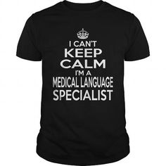 MEDICAL LANGUAGE SPECIALIST KEEP CALM AND LET THE HANDLE IT T-Shirts, Hoodies, Sweatshirts, Tee Shirts (22.99$ ==► Shopping Now!)