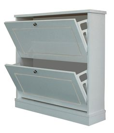 features shoe storage cabinet silver tone hardware two rows of