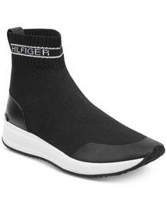 46f42a2bcf6 Tommy Hilfiger Reco Slip-On Sock Sneakers   Reviews - Athletic Shoes    Sneakers - Shoes - Macy s
