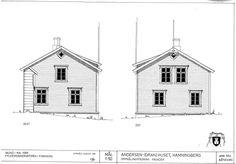 Drawings from east and west made by Finnmark fylkeskommune in the mid-eighties.