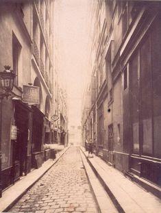 Rue Guérin-Boisseau (1907) par Eugène ATGET