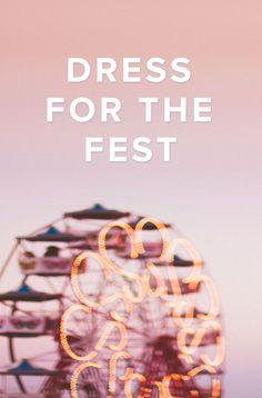 Your Festival Survival Guide