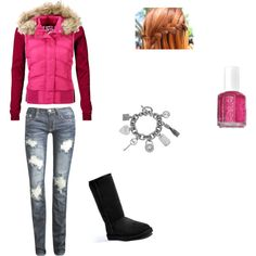 WInter casual, created by southerngirl-866.polyvore.com