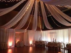 """What a great wedding on 09/6/13- Lindsey and Aaron at """"Pineisle Center"""" - Lake Lanier Islands!  Beautiful decor and floral by Design House of Weddings!  http://www.lakelanierislands.com/weddings  Beautifully done with Smooth Tie The Knots!"""