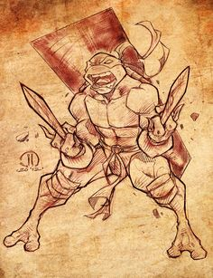 TMNT Raf by *JoeyVazquez on deviantART