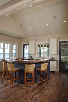 Image result for lake house kitchen