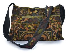 Brown Retro Boho Bohemia Ethnic Shoulder Bag ~Embroidered LOVE this..and  waiting for f52adc613c