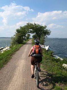 burlington bikepath/causeway #BTV #Vermont