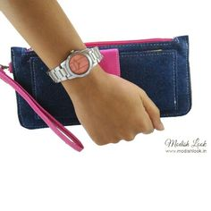 Watches, Wallets , Wristlets! Shop for your favourite color. #modishlook #wallets #wristlets #pink #colors