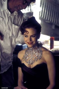 Nicole Kidman- Moulin Rouge--how can you not smile wearing that many diamonds!