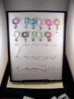 Absolutely Kismet: Wine Charm Display How To