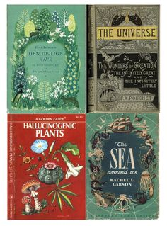 VINTAGE BOOKS about the Universe and Nature