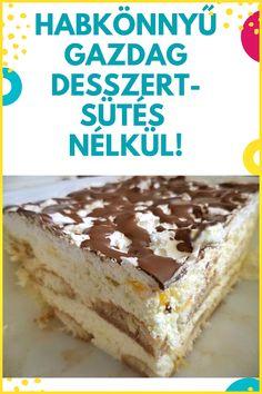 Mennyei finom! # édesség #desszert Edible Flowers, Nutella, Tiramisu, Ale, Food And Drink, Sweets, Snacks, Cookies, Fruit