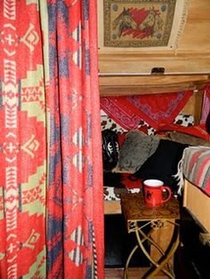 Decor ideas for cowboy camper. Inexpensive Fix-Up Ideas for a Vintage Trailer