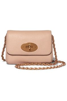 deca35e2851d Mulberry - Lily mini textured-leather shoulder bag