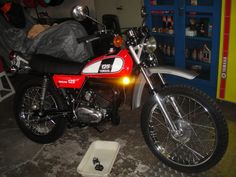 Yamaha DT 125 FB 1975