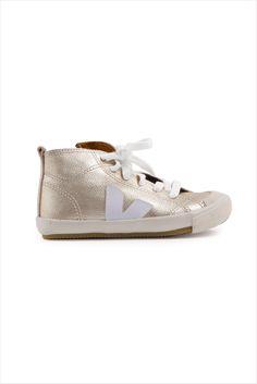 Veja Kid Botinha Zip And Lace Sneaker