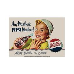 Pepsi - Any Weather Metal Sign