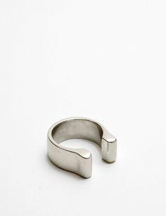 Quarry white bronze mood vertical ring at Bird : ShopBird.com