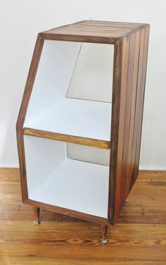 Handmade Record Storage Cabinet Shelving from by crampdstudio, $325.00